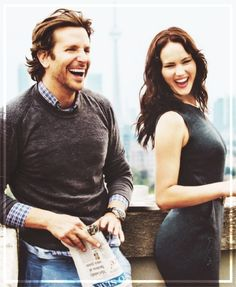 Bradley cooper and Jennifer Lawrence. I'm sorry but they are beautiful. :)