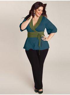 blusas de vestir para gorditas 2014 - Buscar con Google