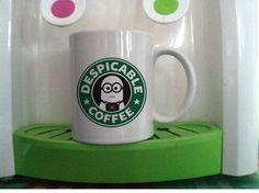 despicable me minions coffe disney movie mug cup two side ceramic 11oz