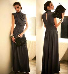 Drop Shipping Loose Low-key Luxury Long Evening dress Plus size 3 colors $18,57