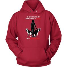 Pet - Courage and a German Shepherd - Unisex Hoodie T Shirt - TL00737HO