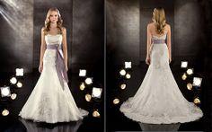 My dream dress... Would LOVE a purple ribbon around waist