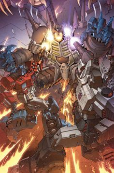Transformers #31 by Casey Coller *