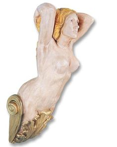 BRITANNIA', a Ships' Figurehead in Replica. Preston's has a number of antique figureheads in their own collection.