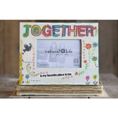 Together Crazy Love Wood Frame  #naturallife, #pinittowinit, #pinhappy