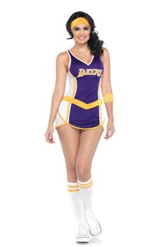 Lakers Dress Adult Costume #NBA