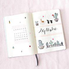 Bullet Journal Septembre