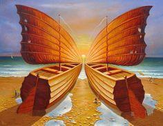 Gennady Privedentsev ~ Surrealist painter