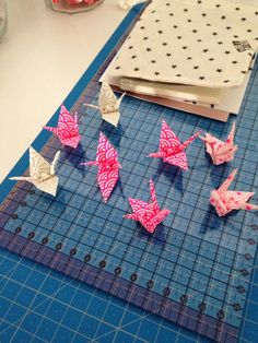 Origami Grues