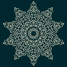 Vector of traditional Persian-Arabic-Turkish-Islamic Pattern  Stock Photo - 21317634