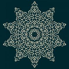 Vector of traditional Persian-Arabic-Turkish-Islamic Pattern  Stock Photo - 21317634