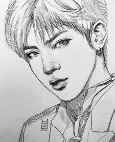 JIN @BTS art