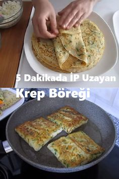 Turkish Recipes, Ethnic Recipes, Crepe Recipes, Cookery Books, Bread Baking, Healthy Living, Appetizers, Food And Drink, Yummy Food