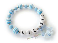 Custom Personalized Girls Name Bracelet / Lil & by BestGifts4Kids, $4.00