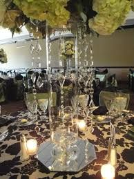 centerpieces with crystals
