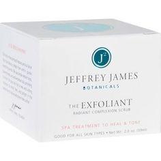 Jeffrey James Botanicals Complexion Scrub The Exfoliant Radiant 2 oz