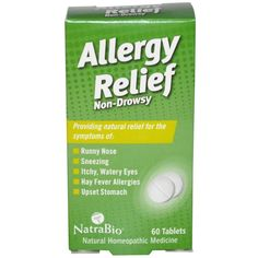 NatraBio Allergy Relief Non-Drowsy Description: Providing natural relief for the symptoms of: Runny Nose Sneezing Itchy, Watery Eyes Hay Fever Allergies Upset S Asthma Relief, Asthma Symptoms, Allergy Symptoms, Cough Relief, Allergy Remedies, Natural Asthma Remedies, Sinus Pressure, Nasal Congestion, Herbs