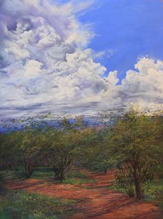 """""""Summertime"""", 7"""" x 5"""" signed Lindy Severns giclee print, matted 