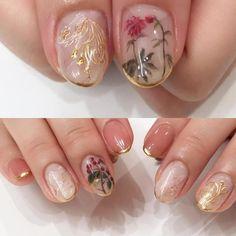What Christmas manicure to choose for a festive mood - My Nails New Nail Colors, Nail Polish Colors, Polish Nails, Color Nails, Minimalist Nails, Simple Nail Designs, Nail Art Designs, Cute Nails, Pretty Nails