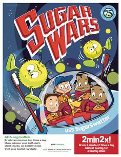 """Each February the American Dental Association sponsors""""National Children's Dental Health Month""""in order to teach young children and remind parents of the value of good oral health. AtAnthony Martin Dentistry, we think this is a worthy mission and want to do our part in ..."""
