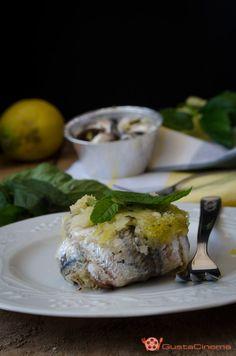 Tortini di alici limone e menta Tortini di alici limone e menta un secondo piatto gustoso, facile e veloce da realizzare. Un piatto leggero realizzato con ingredienti genuini.