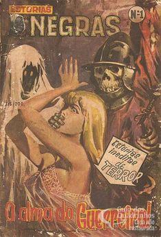 Dark Fantasy Art, Horror Sexy, Arte Do Pulp Fiction, Batman Cat, Horror Artwork, Fantasy Comics, Old Comics, Horror Comics, Arte Horror
