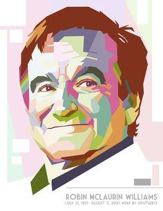 Robin Williams by: Putu Ebo | WPAP