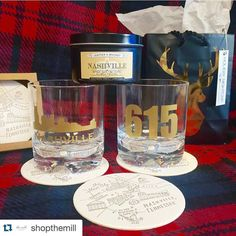 Let our friends @shopthemill take care of your shopping list.  #candle #shoplocal #leatherandwhiskey #santaiscoming #candles