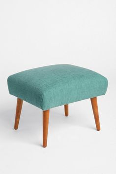 Modern Ottoman: This color combo is to die for, but it also comes in 4 other colors. On sale, $130