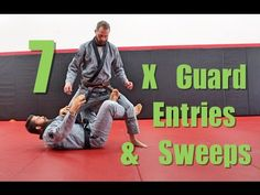 7 BJJ X Guard Drills ( Entries and Sweeps ) - YouTube
