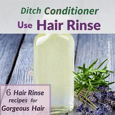 hair beauty - Ditch Conditioner, Use Hair Rinse 6 Hair Rinse Recipes for Gorgeous hair hair buddha Homemade Hair Conditioner, Natural Hair Conditioner, Homemade Shampoo, Acv Hair, Oily Hair, Reduce Hair Fall, Diy Hair Care, Hair Vitamins, Shampoo Bar