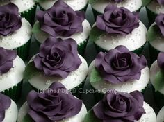 Wedding cupcakes - http://www.themagicalcupcakecompany.co.uk/cupcakes.html#