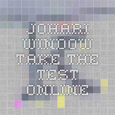 Johari Window - take the test online