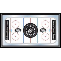 Trademark Commerce NHL1500-SHIELD NHL Rink Mirror with NHL Shield Logo