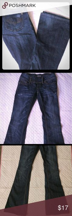 "Berock for Express Flare Jeans size 2 Like new condition. Barely worn. Inseam 32"" Flare & boot cut style Express Jeans"