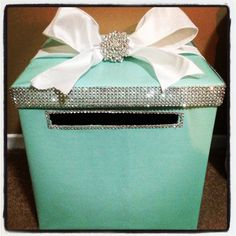 New bridal shower gifts money tiffany blue 56 ideas Tiffany Blue, Tiffany Theme, Tiffany Party, Tiffany Wedding, Aqua Wedding, My Bridal Shower, Bridal Shower Games, Bridal Showers, Breakfast At Tiffanys Party Ideas