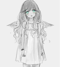 Angel, Maximum Ride, Manga, Narae Lee, cute, Angel, sad, child, girl,