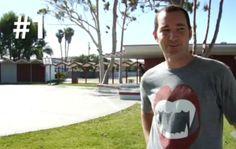 Jeremy Wray Ollie entre prédios - Clube do skate