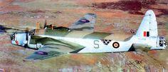 """Samolot bombowy Vickers """"Wellington"""" Mk.X z 304 Dywizjonu Bombowego Ziemi Śląskiej. (Źródło: via Wojciech Zmyślony- """"Polskie Siły Powietrzne w II wojnie światowej"""")."""