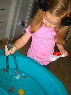 Sensory Play - I can get lost in this website, so many great ideas and I keep thinking to myself how smart/obvious, why didnt I think of that!? kids