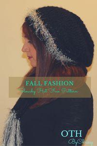 ba5fc4cd3f9 Free Crochet Pattern Kasta Slouchy Hat Slouchy Hat