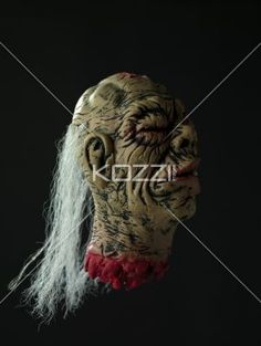 image of a ugly demon. - Close-up shot of a demon.