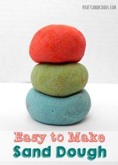 Easy to Make Sand Dough