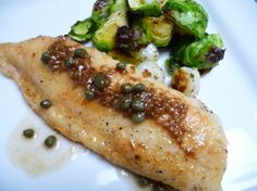 Quick weeknight recipe: Tilapia in a White Wine Sauce with Capers