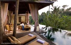 Komaneka at Bisma, Bali.  In my top 3 favorite hotels in the world. This is in Ubud, my favorite place in Bali.