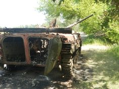 Ukrainian BMP-1 Donbas War
