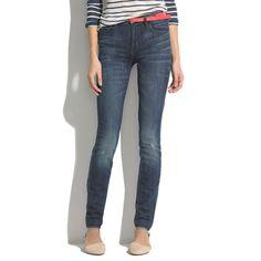 Madewell Skinny Skinny High Riser Jeans In River Wash