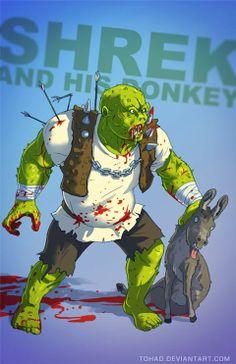 2173d083486 Quand nos héros de dessins animés deviennent des méchants