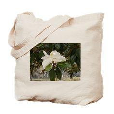 OLD FLORIDA MAGNOLIA Tote Bag