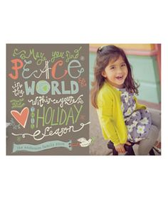 Love and Peace Eternal Photo Card by Sydney Newsom on Minted